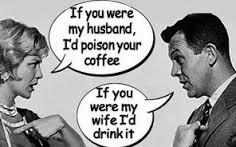 man woman bickering